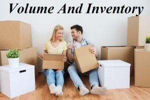 Moving APT - Online Moving Quotes - Volume And Inventory