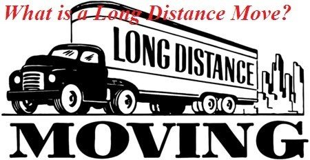 What is a long distance move - Moving APT