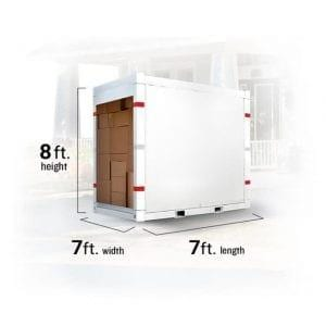 7 Foot Containers - Moving APT