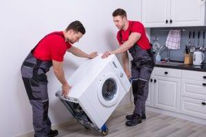 Can I Transport a New Washing Machine on its Back?