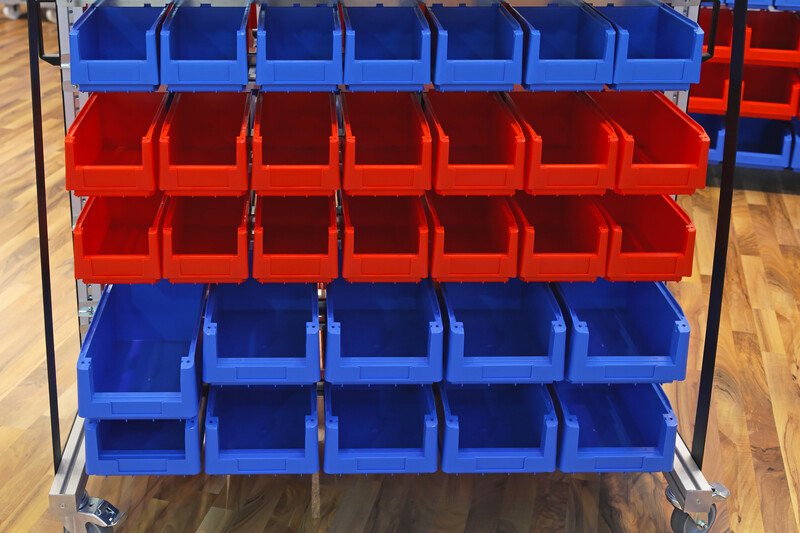 What to Put in Rolling Storage Bins?